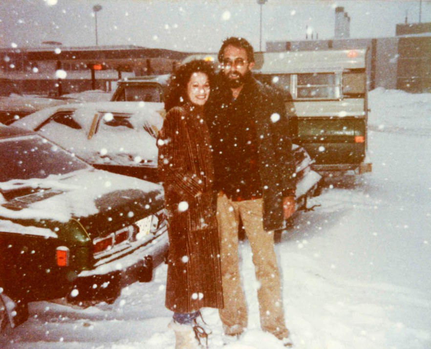 Kathy and John, 1982