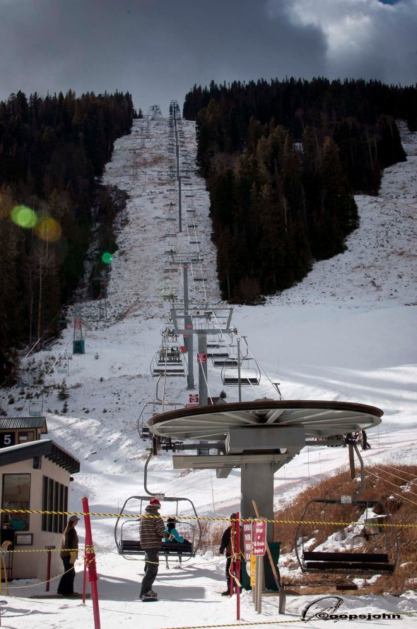 ski slope taos
